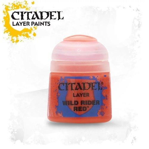 Citadel Paints Wild Rider Red