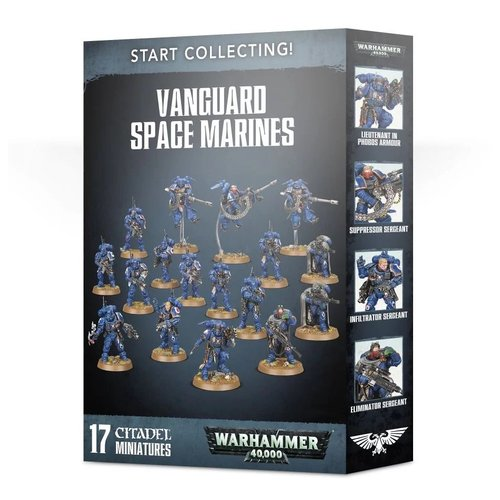 Warhammer 40k Start Collecting! Vanguard Space Marines