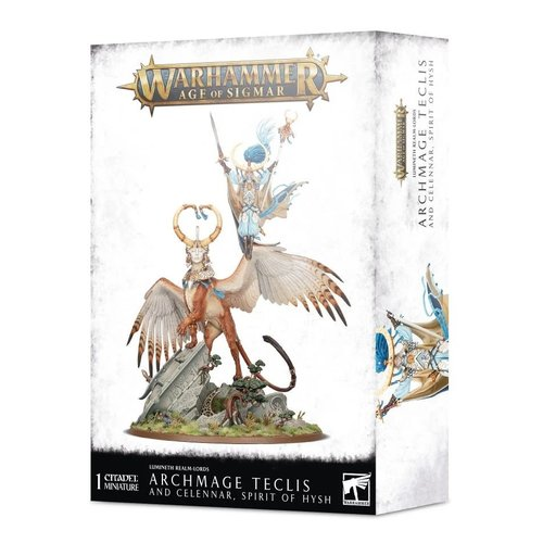 Age of Sigmar Archmage Teclis and Celennar