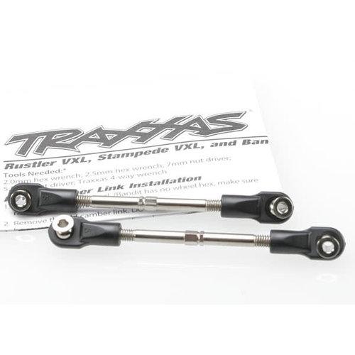Traxxas 3745 59mm Toe Link Turnbuckle VXL (2)