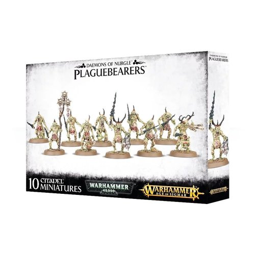 Warhammer 40k Daemons of Nurgle Plaguebearers