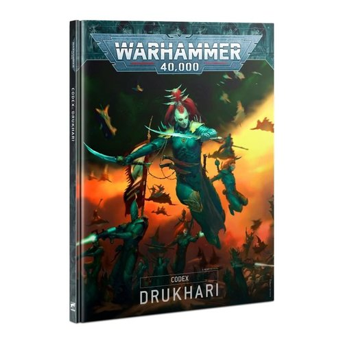 Warhammer 40k Drukhari Codex