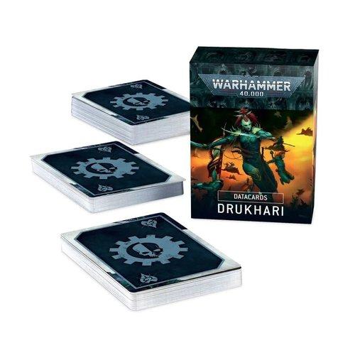 Warhammer 40k Drukhari Datacards