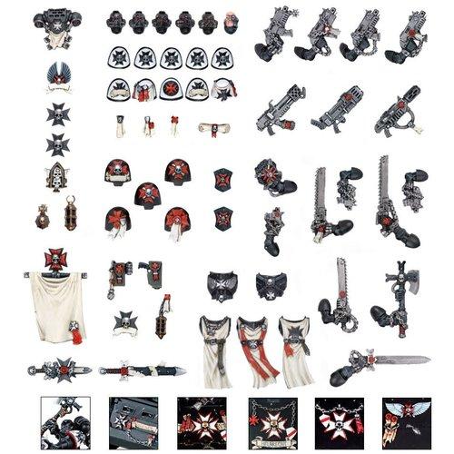 Warhammer 40k Black Templar Chapter Upgrade