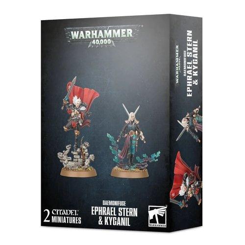 Warhammer 40k Ephrael Stern & Kyganil