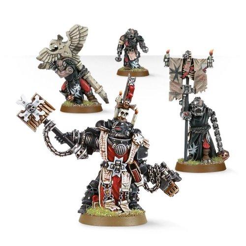 Warhammer 40k Grimaldus & Retinue