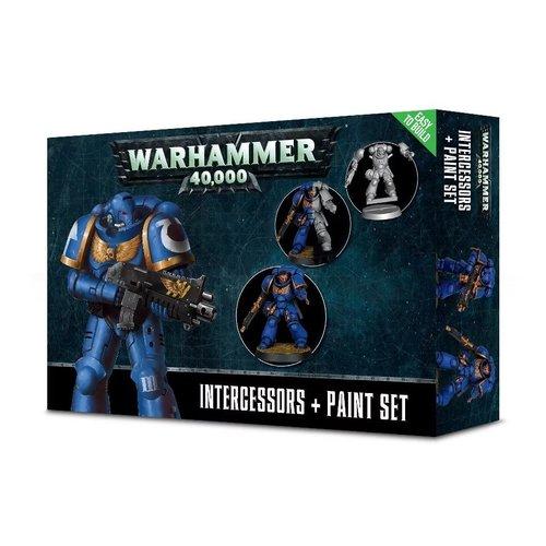 Warhammer 40k Intercessors + Paint Set