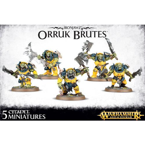 Warhammer 40k Ironjawz Orruk Brutes