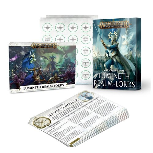 Age of Sigmar Lumineth Realm-Lords Warscroll Cards