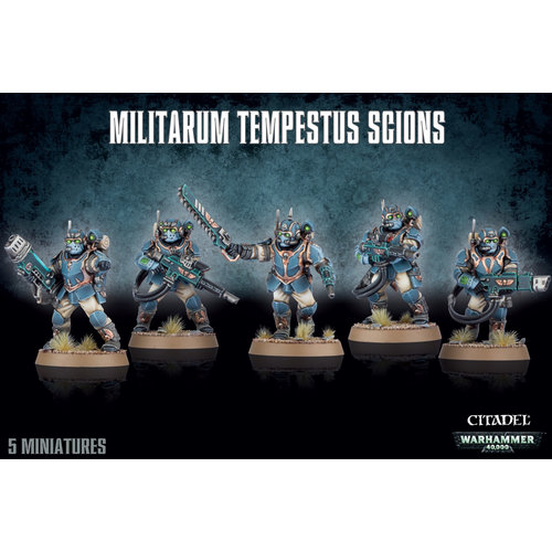 Warhammer 40k Militarum Tempestus Scions
