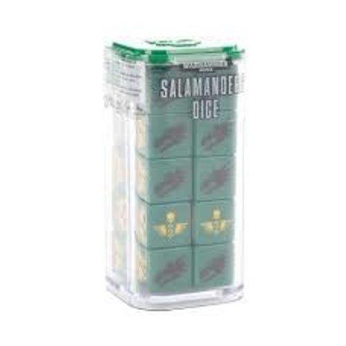 Warhammer 40k Salamander Dice