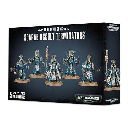 Warhammer 40k Scarab Occult Terminators
