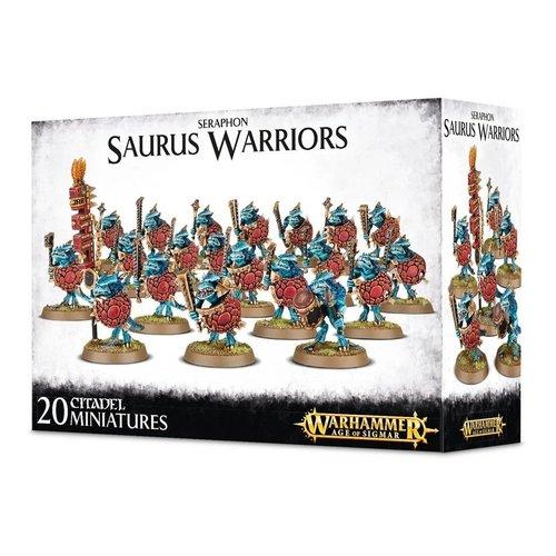 Age of Sigmar Seraphon Saurus Warriors