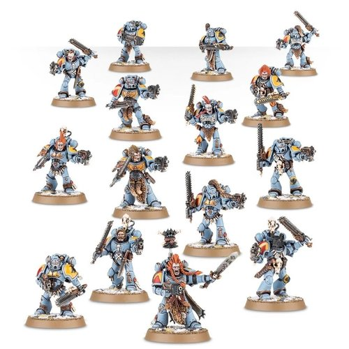Warhammer 40k Space Wolves Bloodclaws