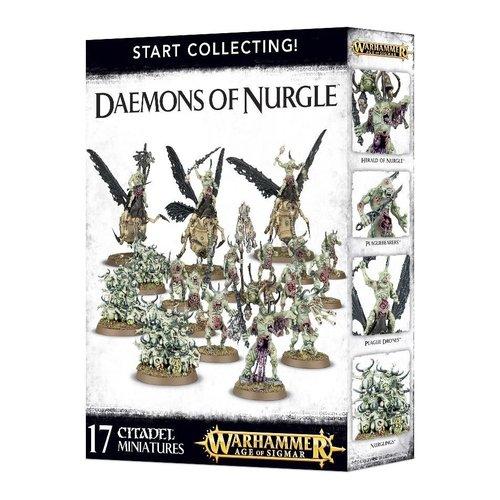 Warhammer 40k Start Collecting! Daemons of Nurgle