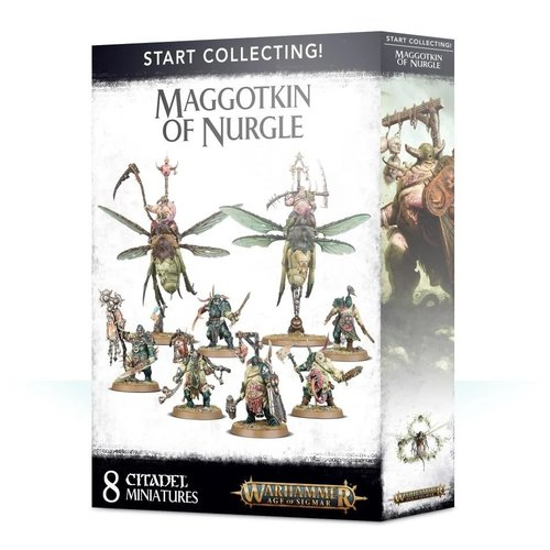 Age of Sigmar Start Collecting! Maggotkin of Nurgle