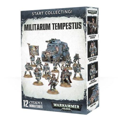 Warhammer 40k Start Collecting! Militarum Tempestus