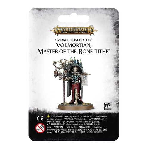 Age of Sigmar Vokmortian Master of the Bone-Tithe