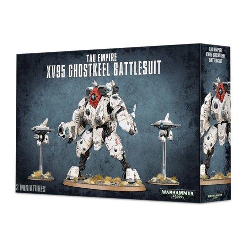 Warhammer 40k XV95 Ghostkeel Battlesuit
