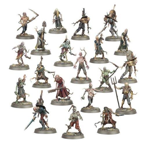 Age of Sigmar Soulblight Gravelords Deadwalker Zombies