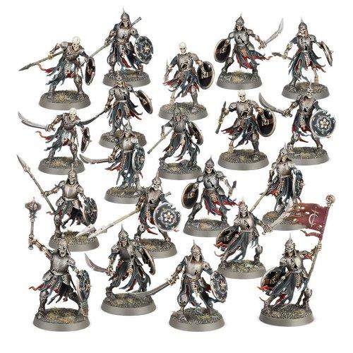 Age of Sigmar Soulblight Gravelords Deathrattle Skeletons