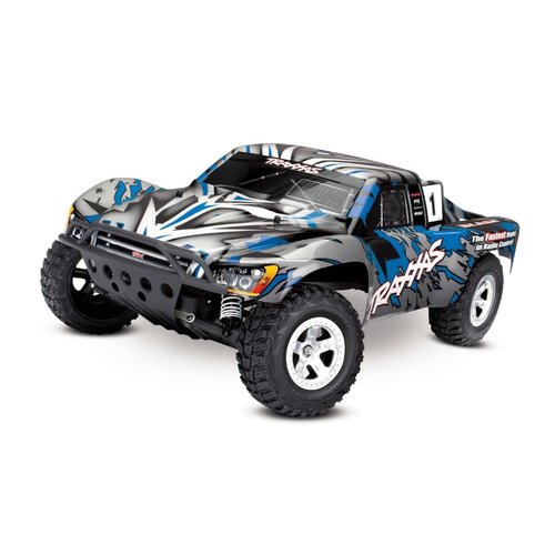 Traxxas 58024BL 1/10 2wd Slash No Battery/Charger Blue
