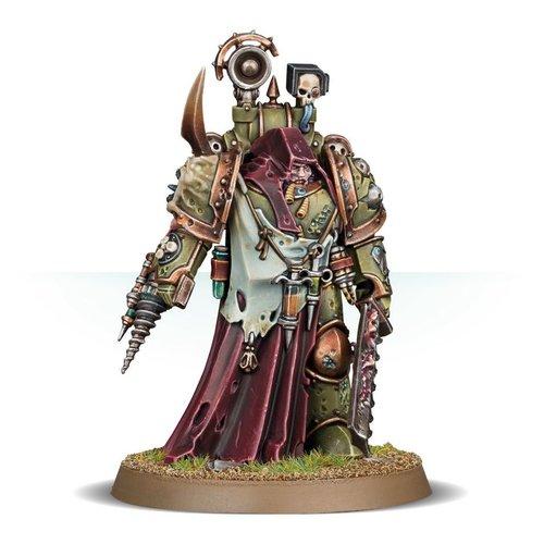 Warhammer 40k Nauseous Rotbone, The Plague Surgeon