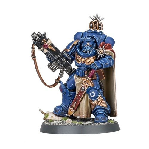 Warhammer 40k Space Marine Captain with Master-Crafted Heavy Bolt Rifle
