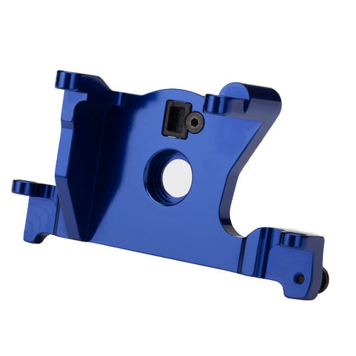 7460r Motor mount, 6061-T6 aluminum blue