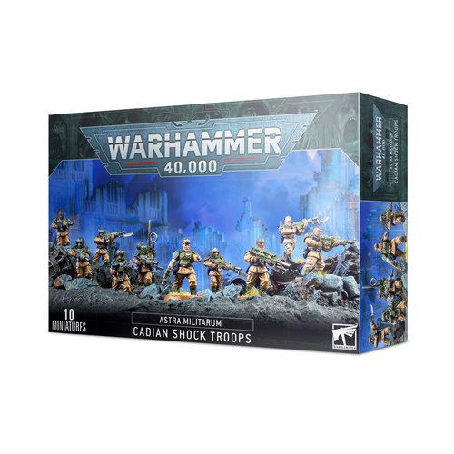 Warhammer 40k Cadian Shock Troops
