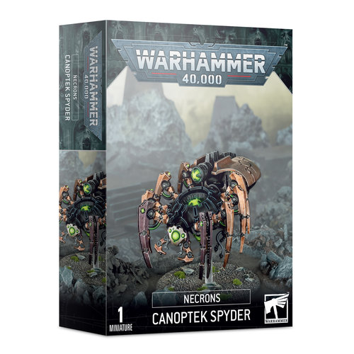 Warhammer 40k Canoptek Spyder