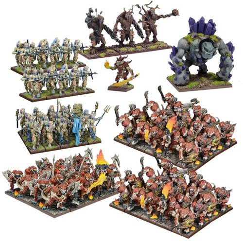 Mantic Forces of Nature Mega Army