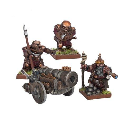 Mantic Dwarf Bombard
