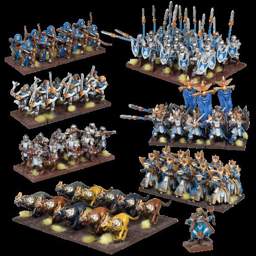 Mantic Basilean Mega Army
