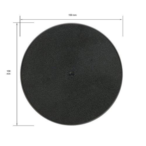 130mm Round Base