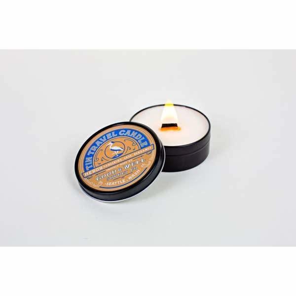 Heron Tin Travel Candle