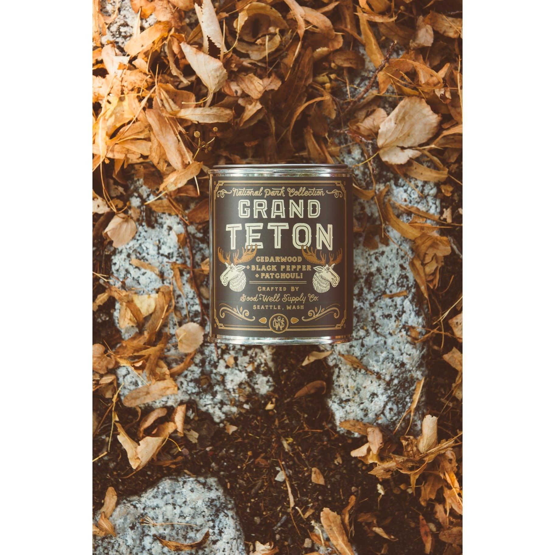 Grand Teton 1/2 Pint Candle