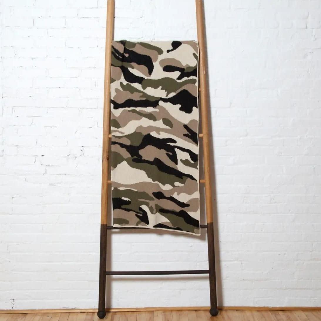 Eco Camouflage Throw