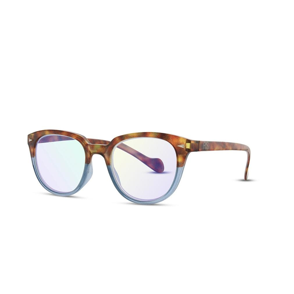 Tortoise/Blue Anti Blue Ray Reading Glasses
