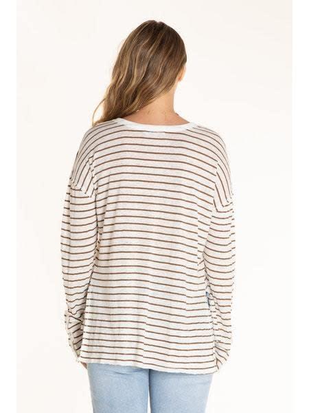 Long Sleeve V-Neck Tunic