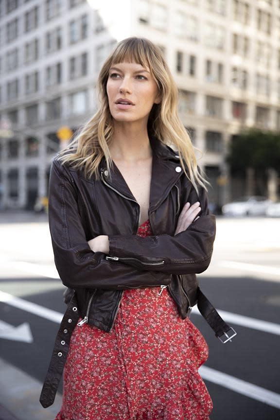 Wild 2 Leather Jacket