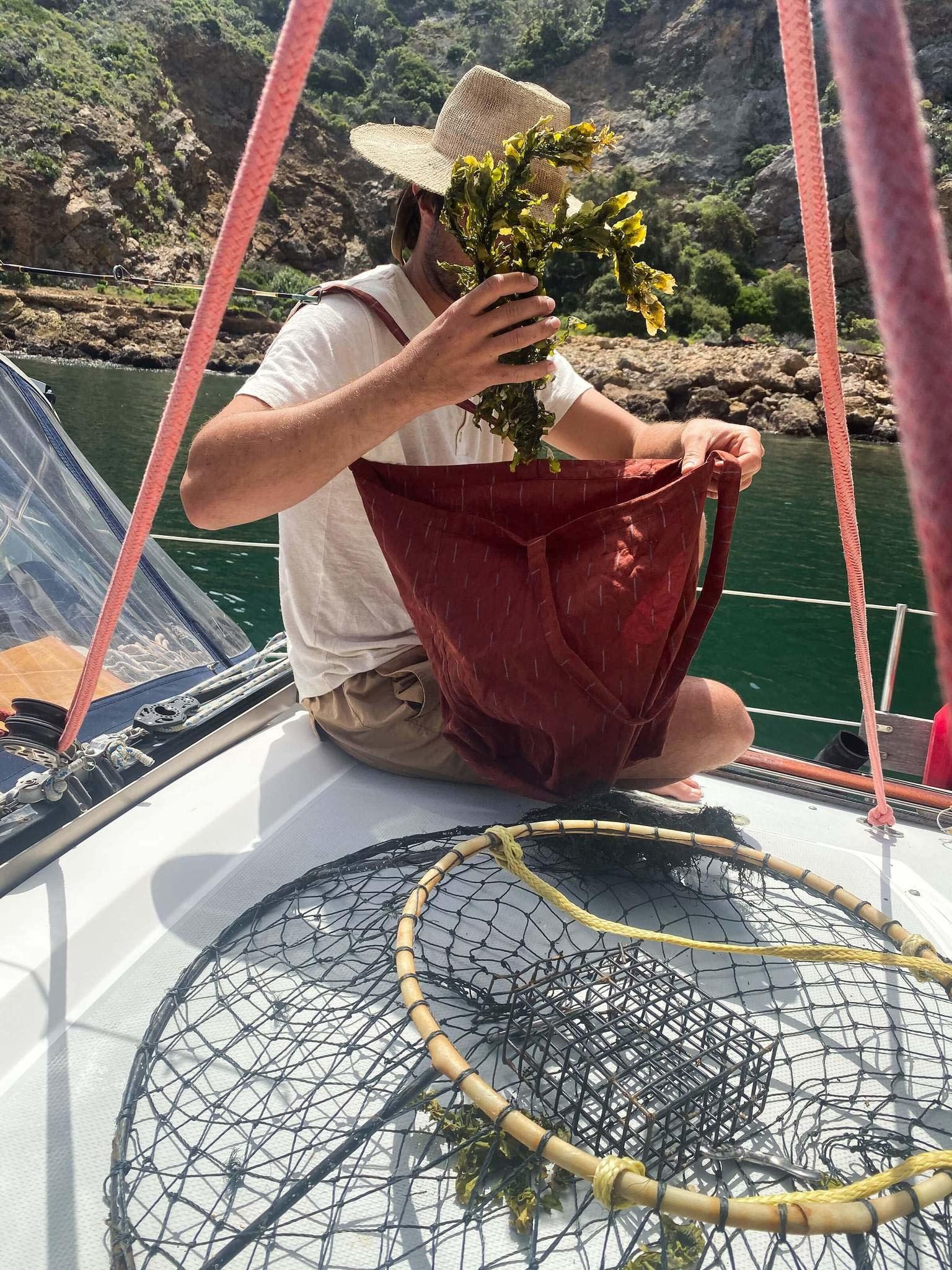 Ikat Market Bag