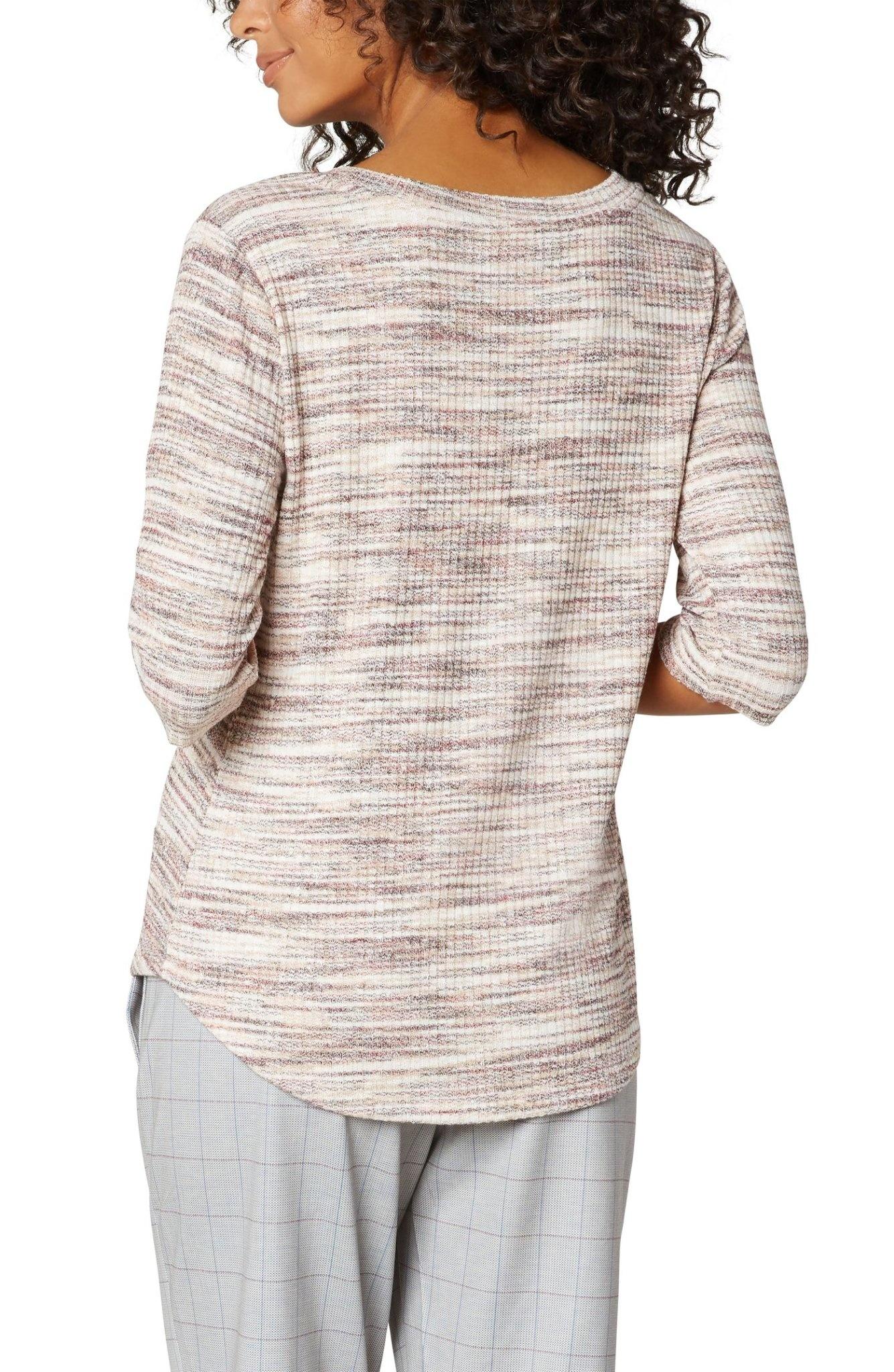 Elbow Sleeve Knit Tee