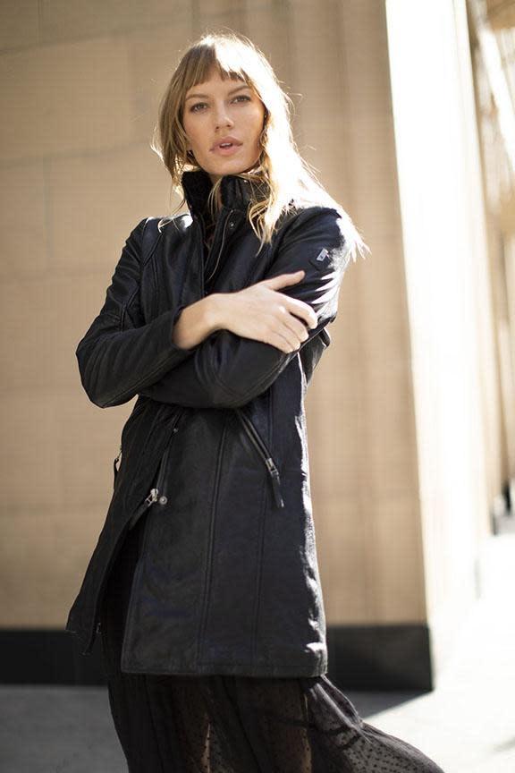 Silah Leather Jacket
