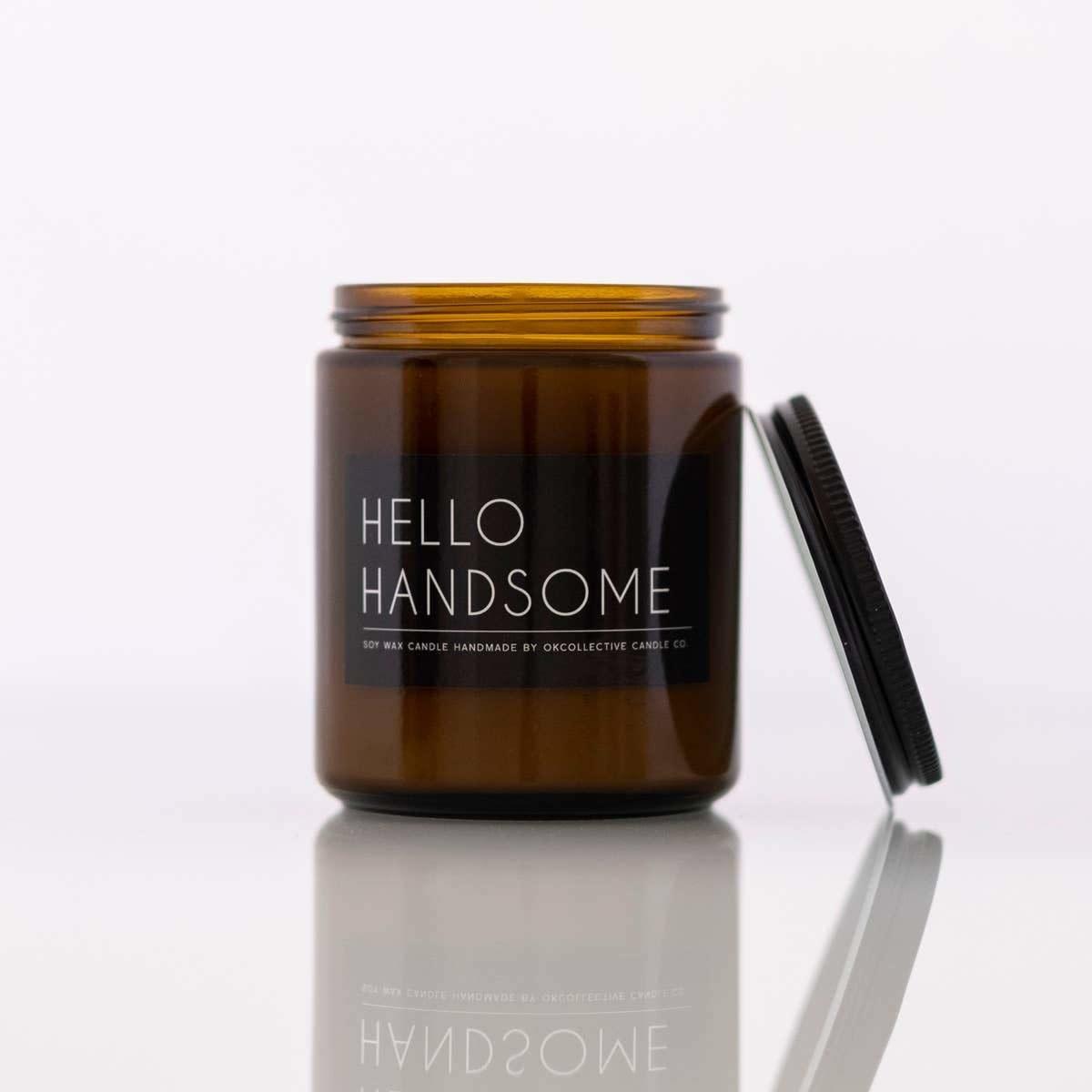 Hello Handsome 8 oz. Candle