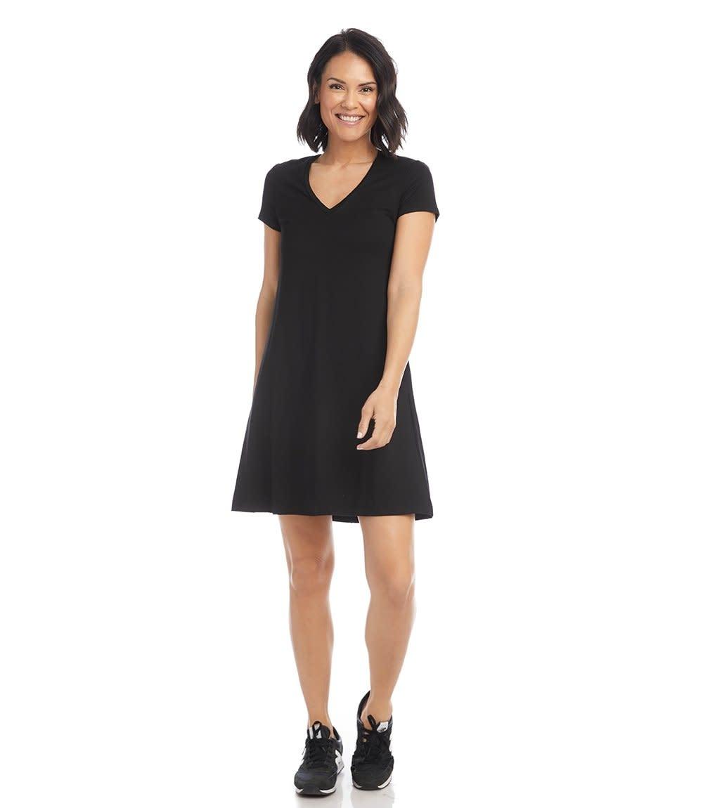 Quinn V-Neck Pocket Dress