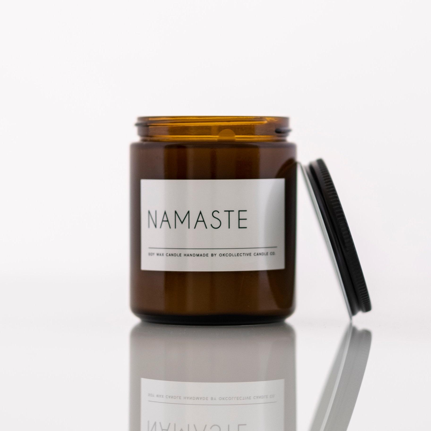 Namaste 8oz Candle