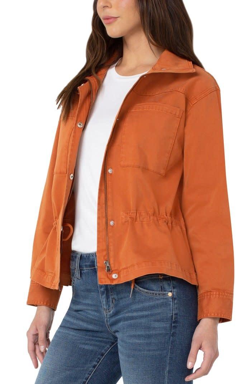 Zip Front Anorak Jacket