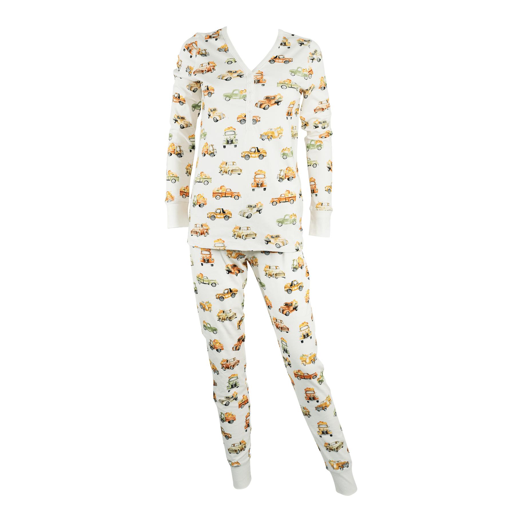 Henley Pajama Set