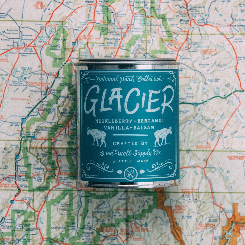Glacier 1/2 Pint Candle